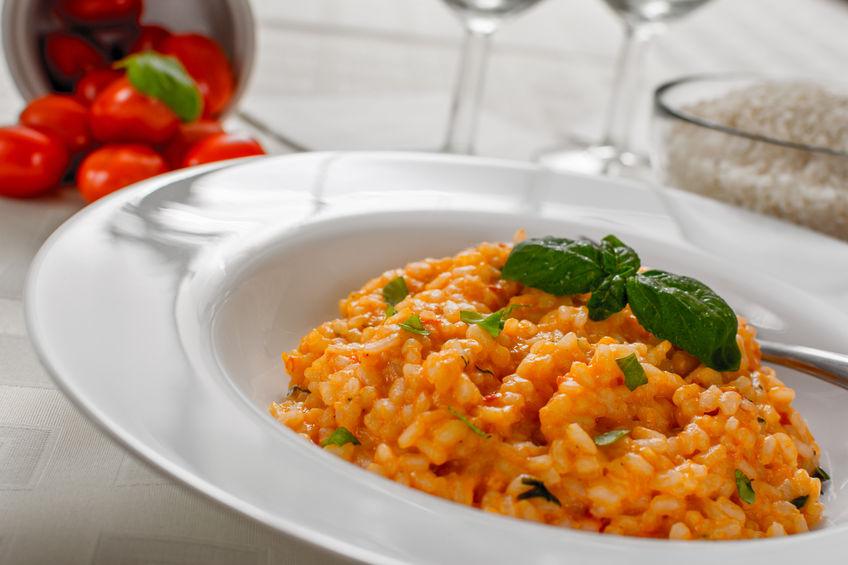 Asparagus & Sun-Dried Tomato Risotto
