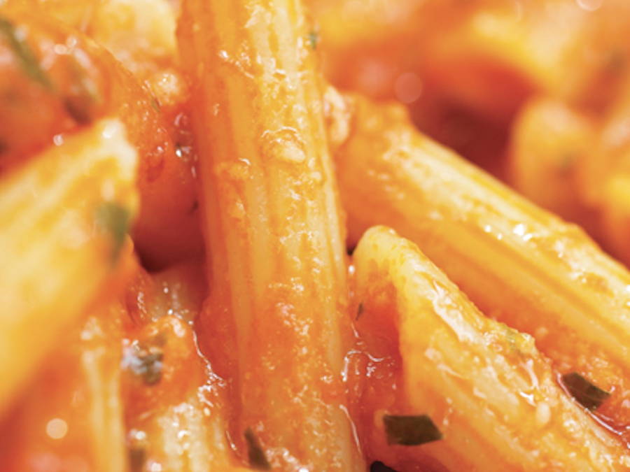 Penne with Anchovies and Tomatoes