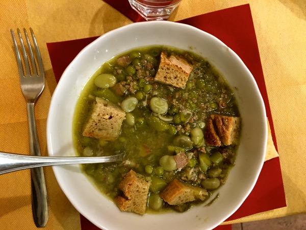 Garmugia (Spring Vegetable Soup)